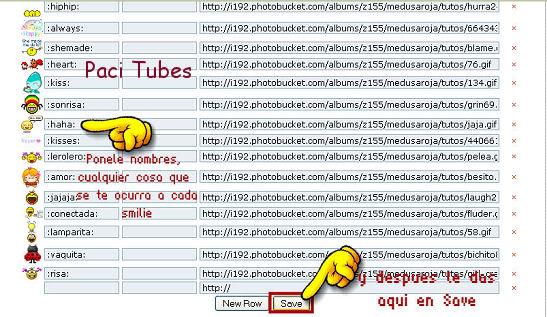 Como Agregar emoticones extras un tagboard tu 2noe_smilies_cbox