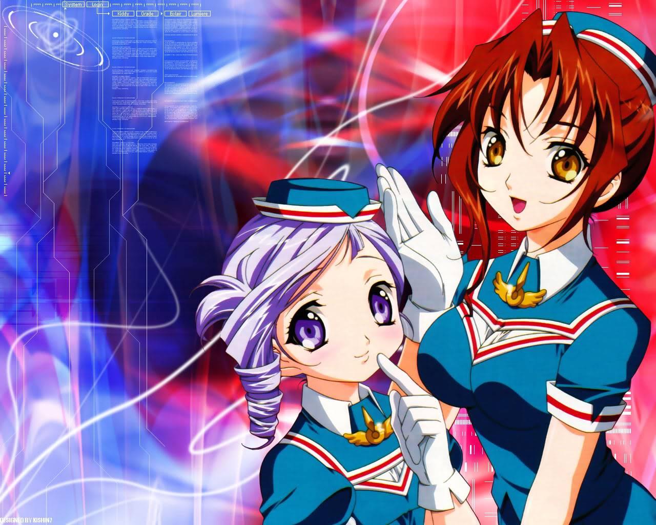 Les plus belles filles (origine : Denchu chan) Kiddygradeworks