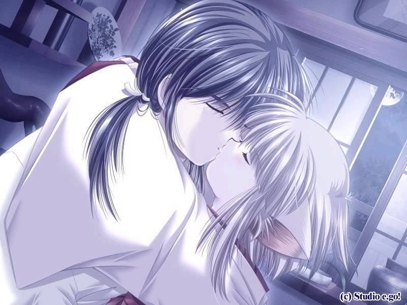Besitos anime Couple31