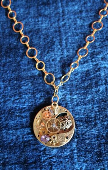 [SELLER] Steampunk & Altered Art Jewellery - UPDATE! SolarEclipseII