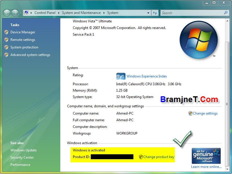 حصريا Windows Vista SP1 x86 RTM ENG Retail بتاريخ 2/2/2008م !! نسخة طازة Vsp27