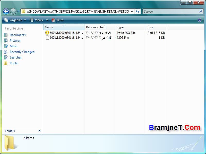 حصريا Windows Vista SP1 x86 RTM ENG Retail بتاريخ 2/2/2008م !! نسخة طازة Vsp50