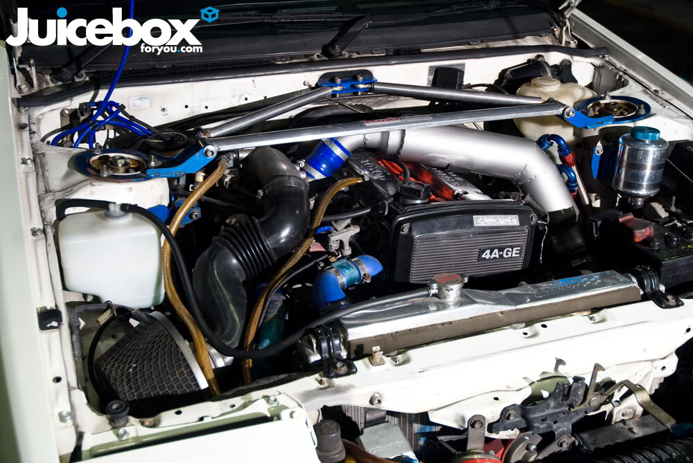 My Levin GT Apex Engine