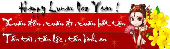 Happy new year :* - Gửi đến nhau lời chúc đầu năm nào :)) Ghost4