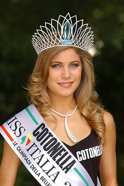 Road to MISS WORLD SLOVAKIA 2009™ Contestants REVEALED on p3 - Page 6 MissItalia01