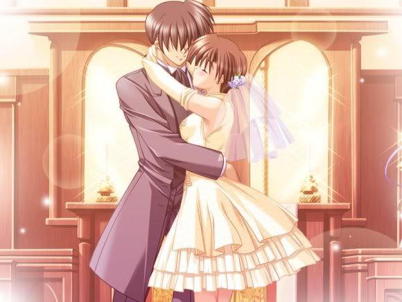 افراح انمي حلوه  Animewedding