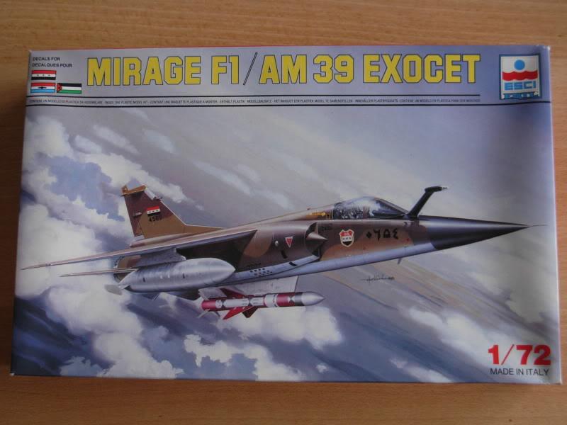 Mirage F1 ESCI Boite