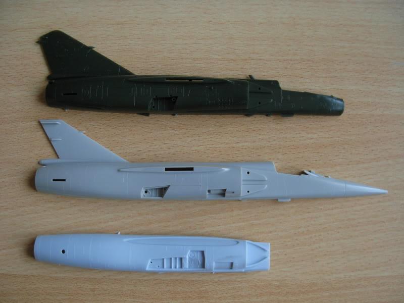 Mirage F1 ESCI Fuselages