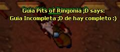 Guia: Pits of Ringonia Quest (lvl 70+) Poiincomplete