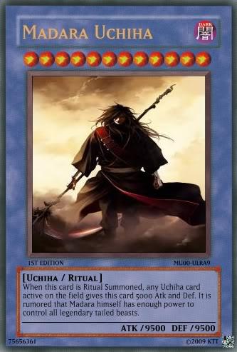 Yu-Gi-Oh Cards XD? MadaraUchiha