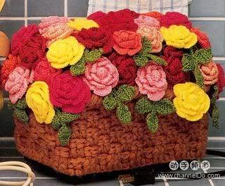 cách móc hoa hồng OM33A