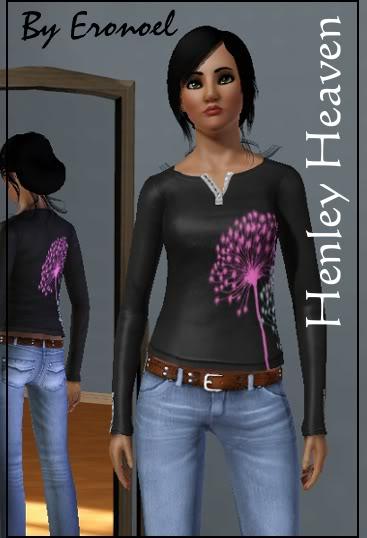 Henley Heaven Shirt LapHenleyHeaven