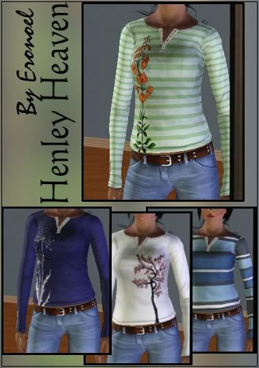 Henley Heaven Shirt LapHenleyHeaventwo