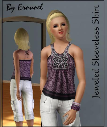 Another top: Jeweled Sleeveless Shirt Lapjeweledsleevelesshirtyaaf1