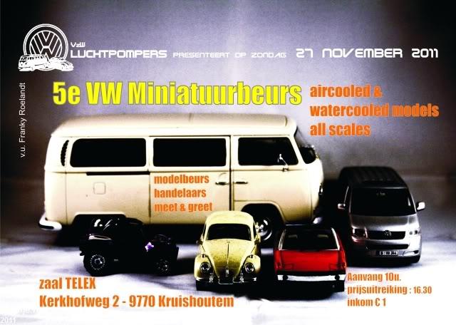5de miniatuurbeurs  Kruishoutem (B)  zondag  27 november Minatuurbeurs2011-02