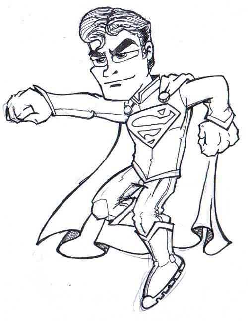 Galeria de Arte - kika Liga-superman