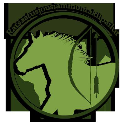 2.2.2015 Ratsastusjousiammuntakilpailut (tarina, mukana arvonta) - TULOKSET Jousilogo