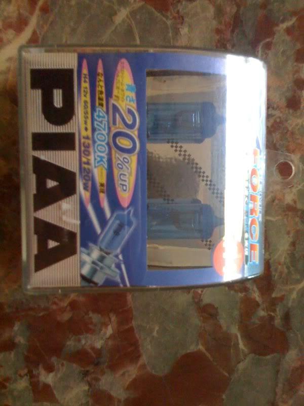 PIAA H4 Globe and EP3R Badge Rear  BRAND NEW! F58e1ba7