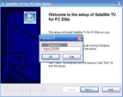 العملاق Satellite TV For PC 2007 Elite Edition لمشاهدة اكثر 02tv