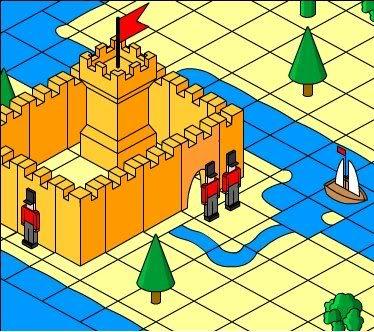 Builder Badge Castle
