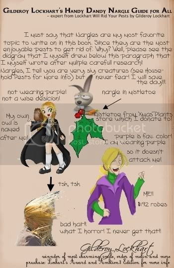 Lockhart's Guide to Hexing the Nargles off the Mistletoe Nargleguide
