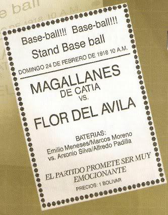 Historia del beisbol en Venezuela Beisbol6