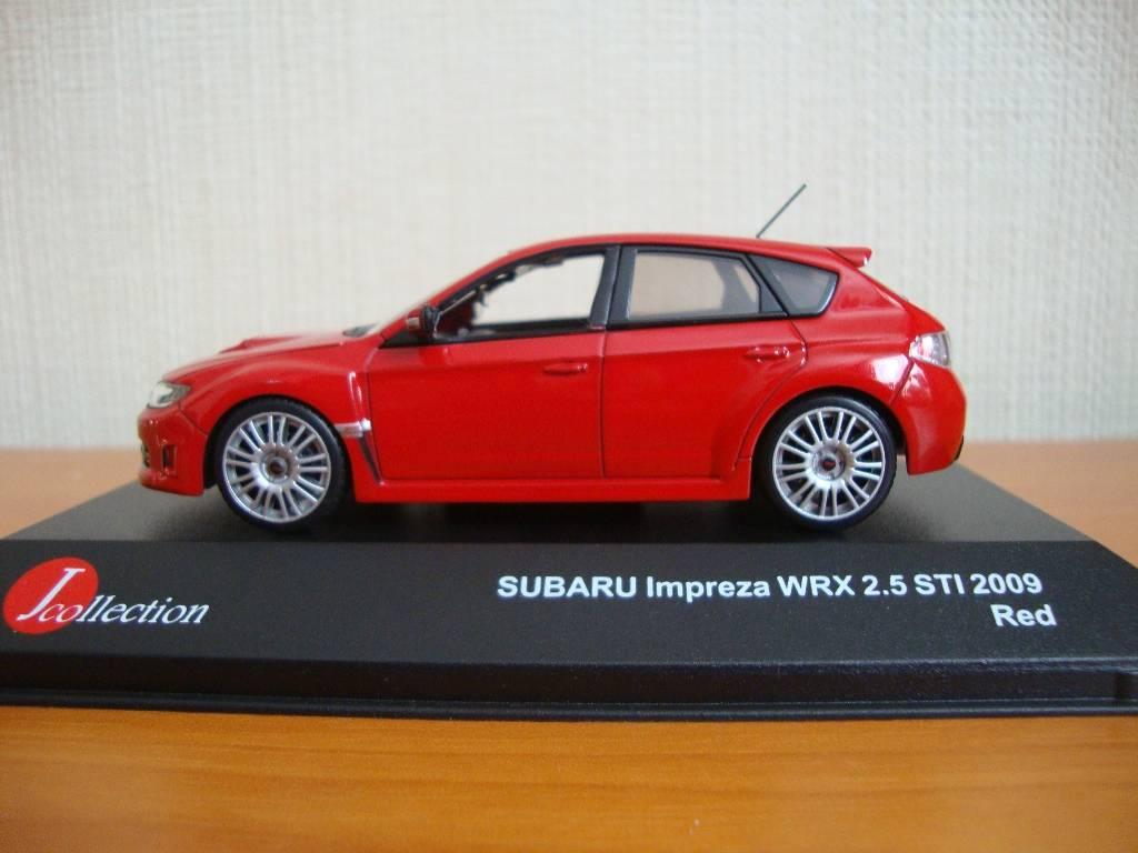 J-Collection en 1:43 SubaruImprezaWRX001