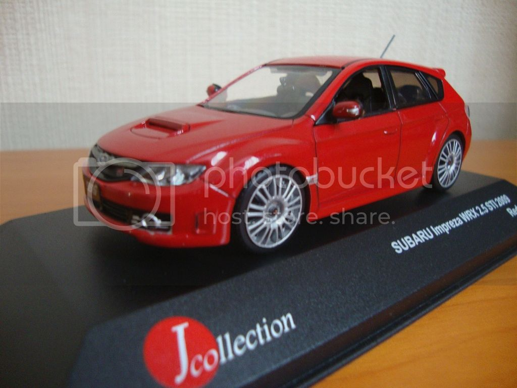 J-Collection en 1:43 SubaruImprezaWRX002
