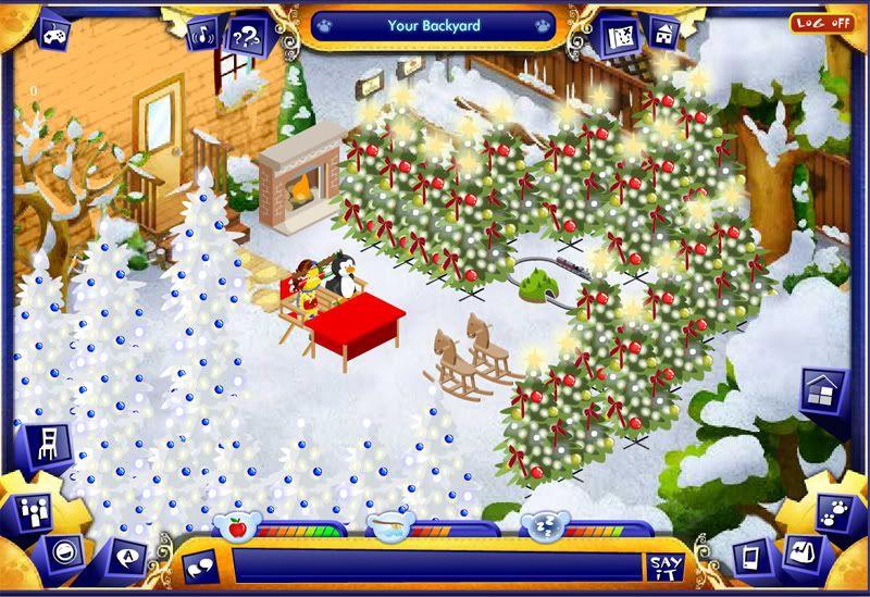 Decorate your backyard for Christmas!!! Backyardchristmas