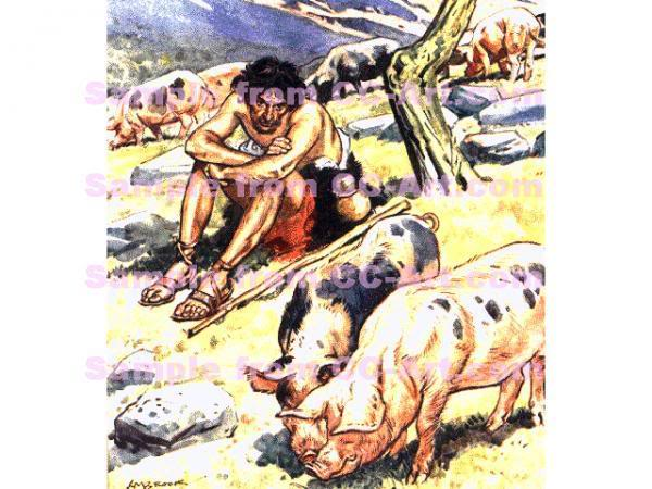 The Lord Is My Shepherd ( Illustrated) Prodigal