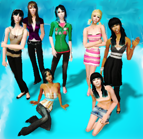ETHEREAL's NEXT TOP MODEL CYCLE 2: **TOP SEVEN REVEALED!** Groupshot