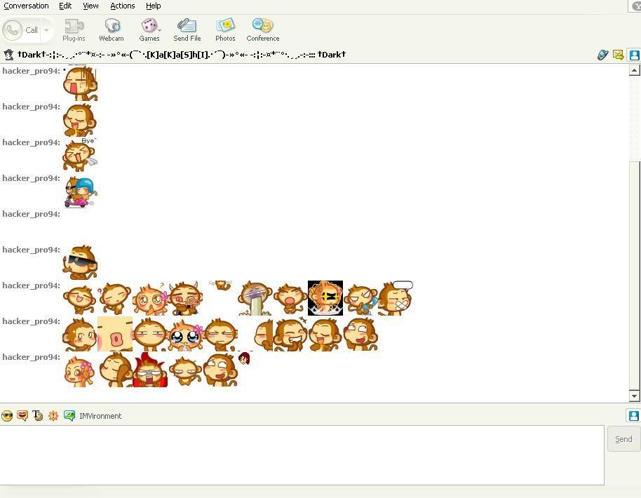 Chat Yahoo + Hình YoYo CiCi Yaheo