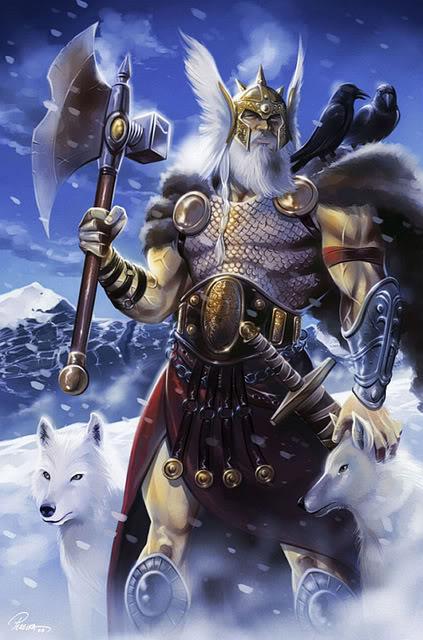 Hojas divinas Odin01