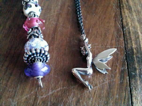 My Trollbeads bracelet and Elf necklace. :) Elvencollier