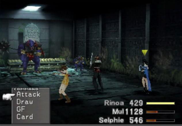 Part one: Final Fantasy Summon Mythology. Sacred_and_minotaur_battle