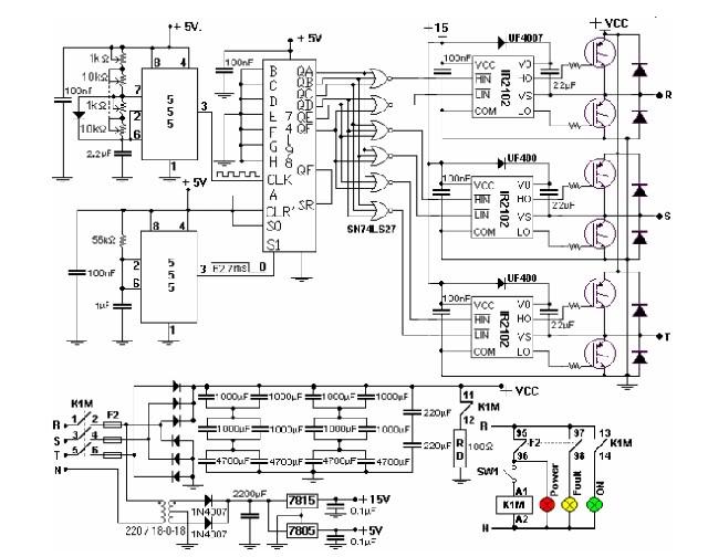 Circuito Variador De Frecuencia : Variador de frecuencia w