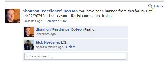 Shannon Dobson: Actually Surprised He Got Banned? Banned