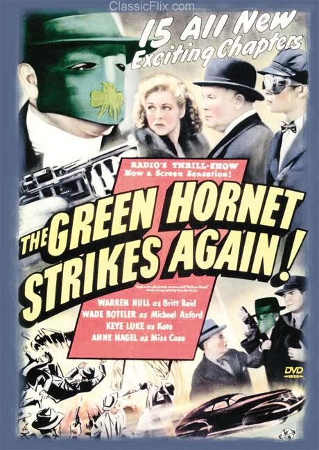 THAE GREEN HORNET Greenhornetstrikesagain