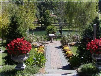 Jardim da mansão Jardim
