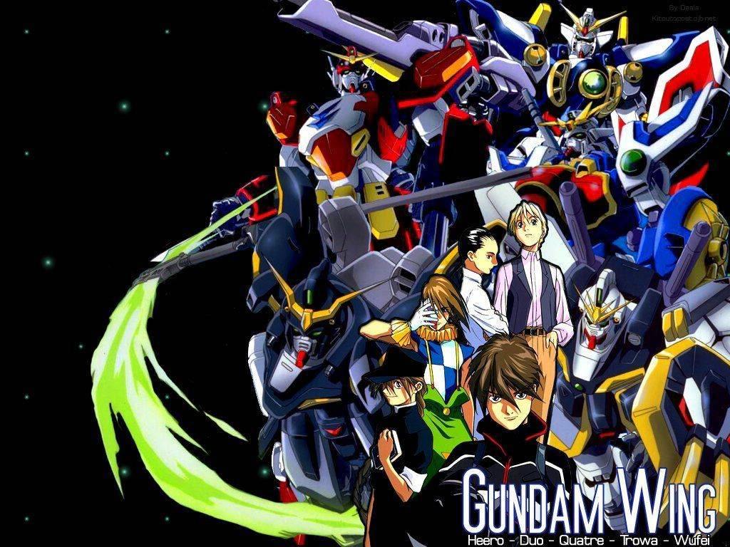 Vos mangas et anime préférer - Page 5 GundamWing