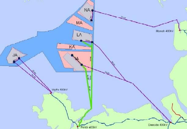 Offshore Windfarms in Welsh Waters Zone9-IrishSeaNorth