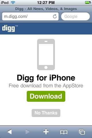 [Review: iPhone App] Digg iPhone Ca2d76e9