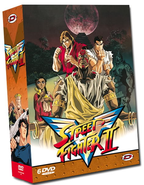 Street Fighter II V DVD_STREET_FIGHTER_II_V