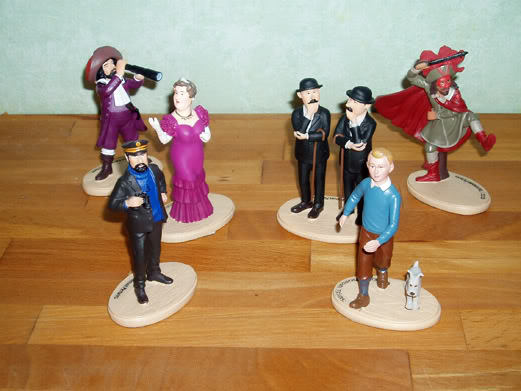 Collection figurines Tintin Carrefour PB224699