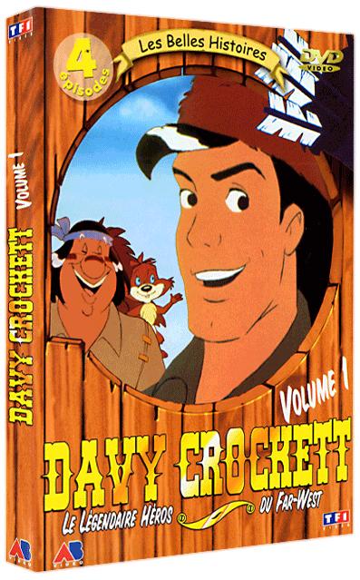 Vos achats animés et dérivés - Page 6 Dvd_davycrockett