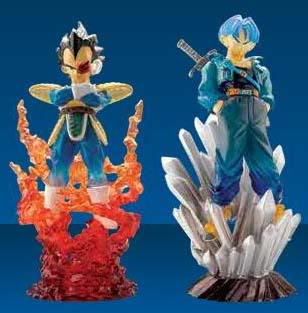 Les figurines de dessins animés Vegeta_trunks
