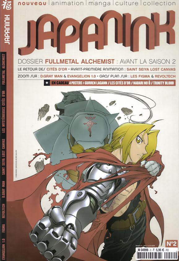 Inazuma : nouveau magazine Japanink_02_mars_avril2009