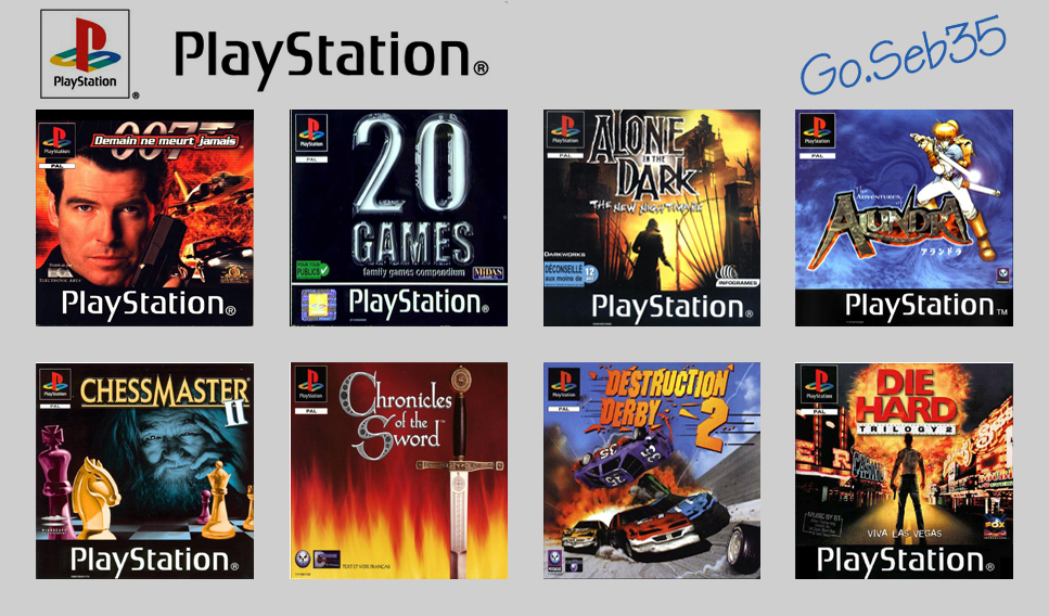Playstation 1,2,3,4,5 Planche_PS_P01