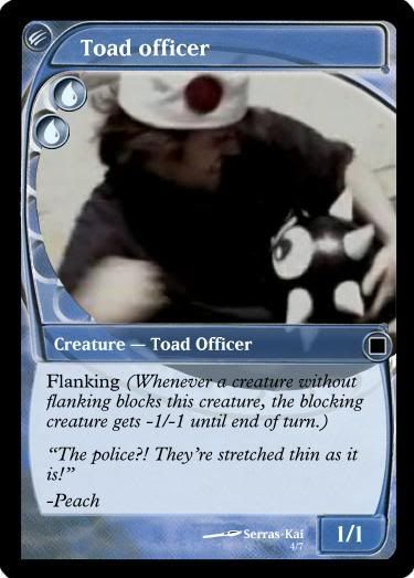 There Will Be Brawl Trading Cards - Page 2 Toadofficer