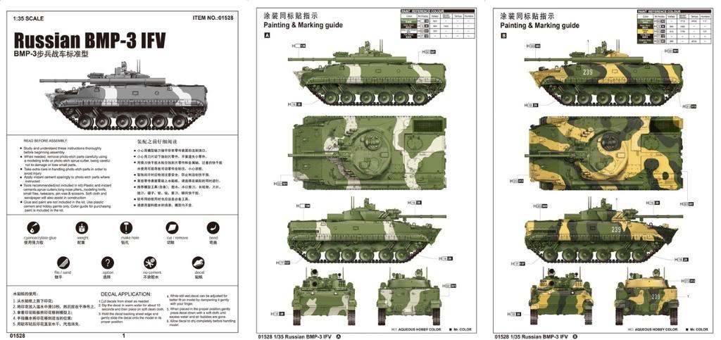 Nouveautés TRUMPETER - Page 2 BMP-3IFVitem01528001